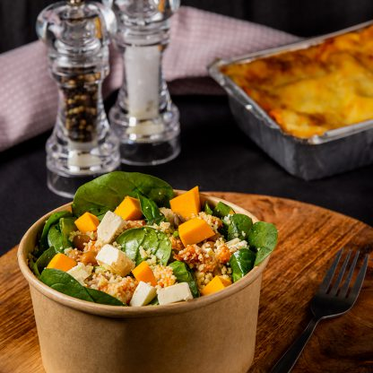 Café Bon Appetit Pumpkin, Spinach & Feta Salad