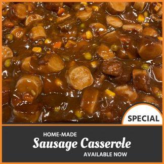Café Bon Appetit Sausage Casserole